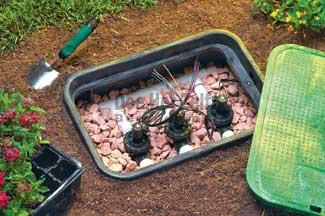 voorbeeld afsluiterput beregening tuin